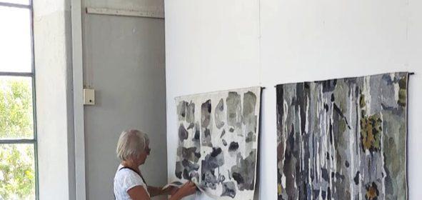 Hängning på Norrbyskärs museum